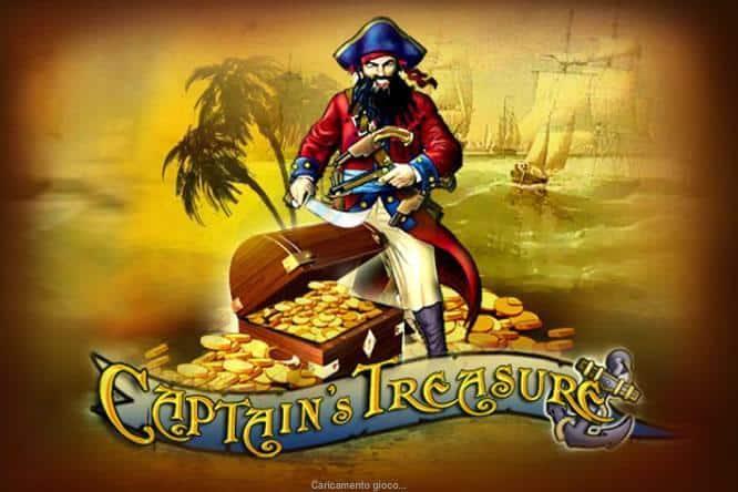 Capitain's Treasure Slot Machine