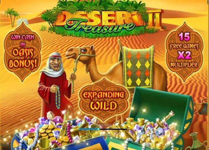 Desert Treasure 2 Slot Machine