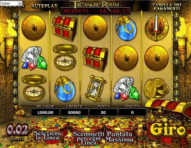 Treasure Room Slot Machine