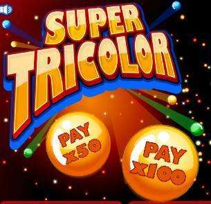 Super Tricolor Slot Machine