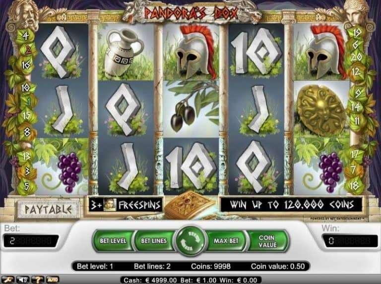 Pandoras Box Slot Machine