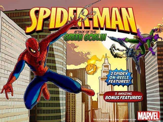Spider Man: Attack of The Green Goblin Slot Machine