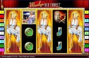 Marilyn Red Carpet Slot Machine