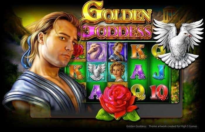 Golden Goddess Slot Machine