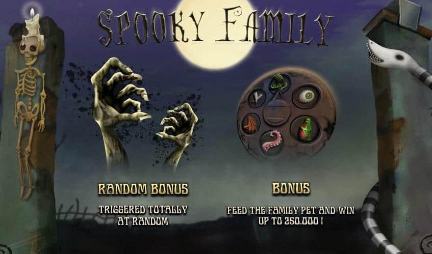 Spooky Family Slot Machine
