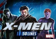 X Men 50 Lines Slot Machine