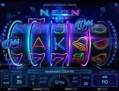 Neon Reels Slot Machine