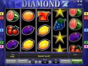 Diamond 7's Slot Machine
