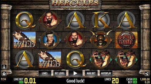 Hercules HD Slot Machine