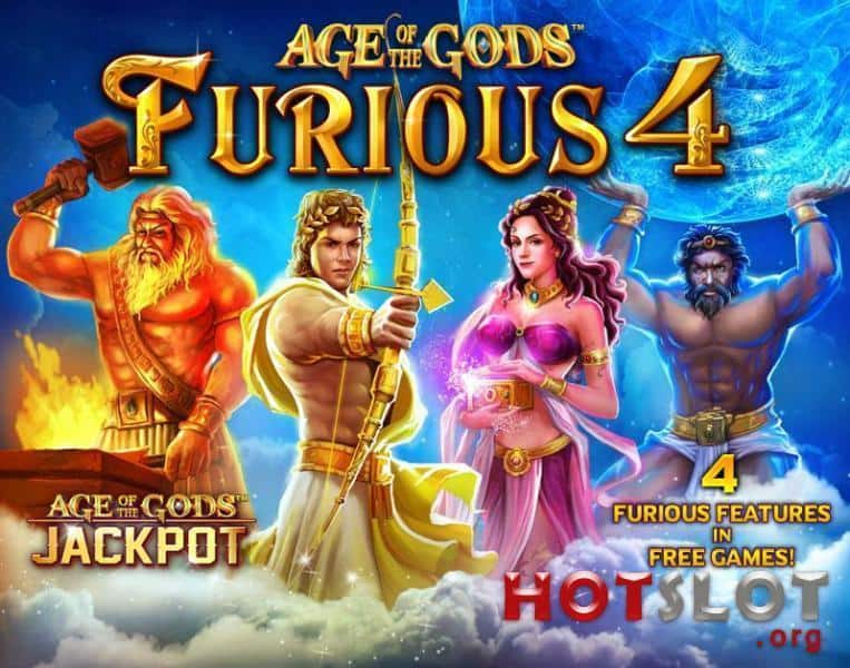 Age of the Gods - Furious 4 Slot Machine