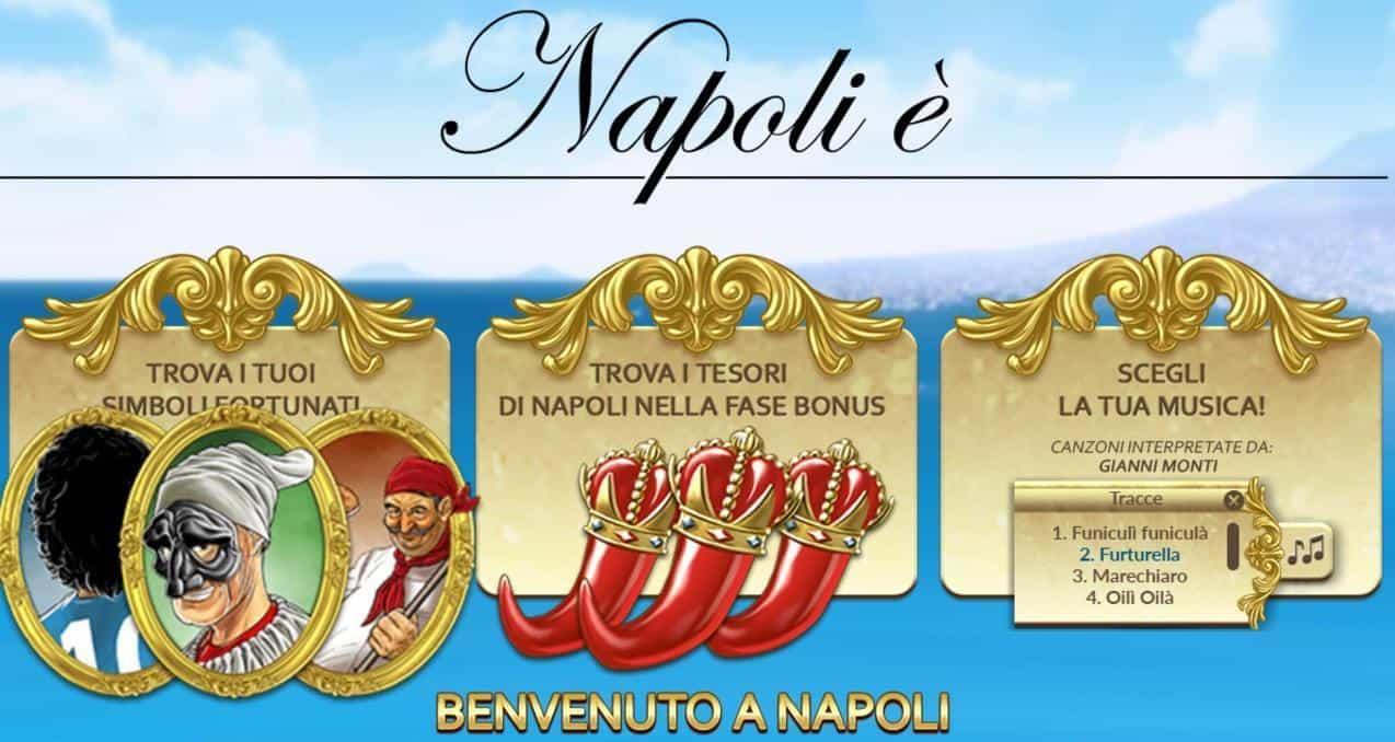 Napoli é Slot Machine
