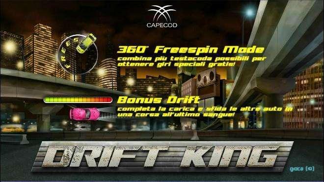 Drift King Slot Machine