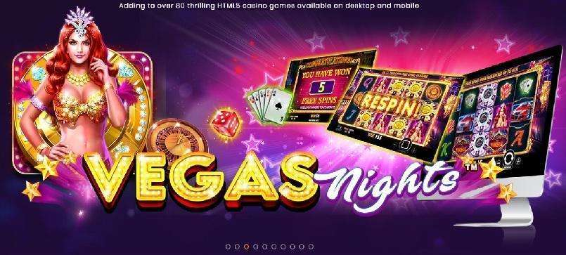 Vegas Night Slot Machine