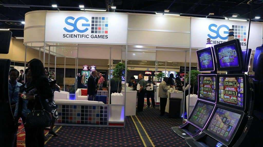 Scientific Games Slot machine