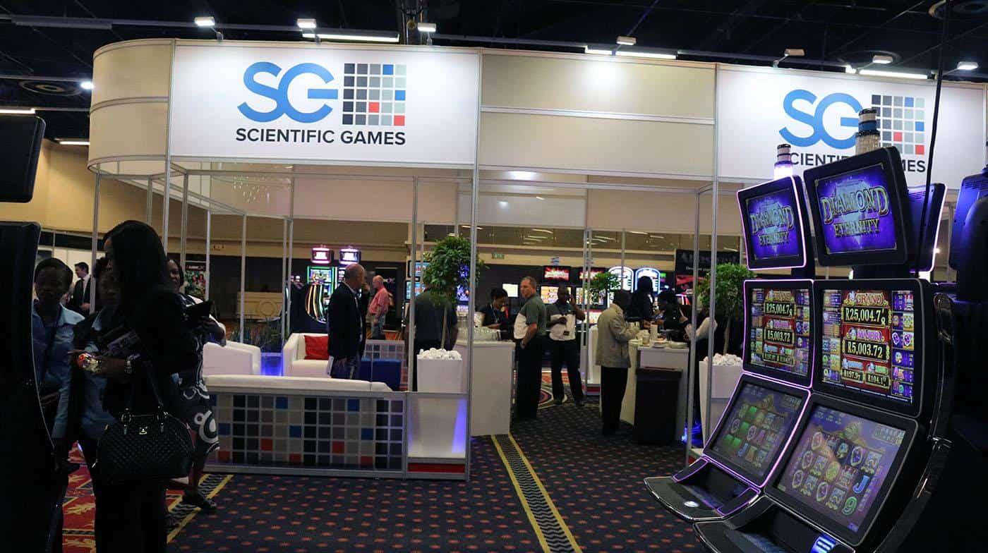 Scientific Games Slot machine