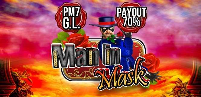 Man in Mask Slot Machine