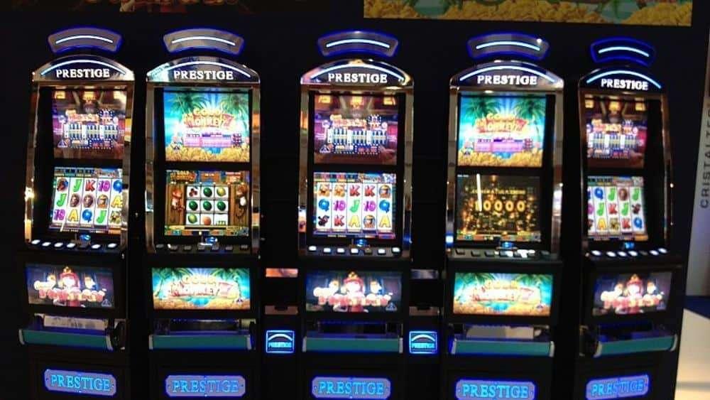 Slot Machine da bar