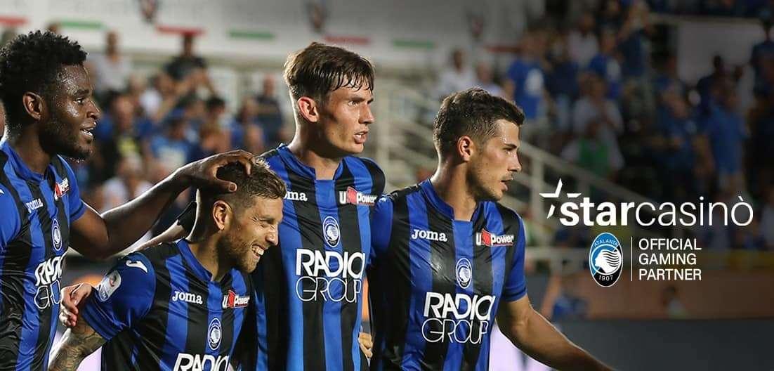 Starcasinò sponsor Atalanta Calcio