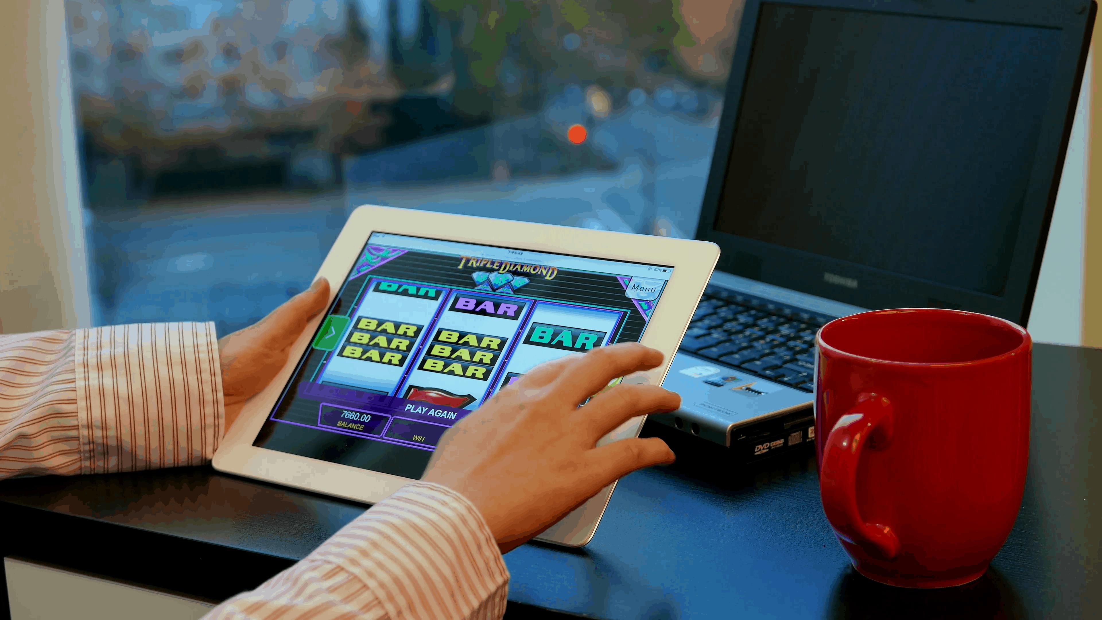 Slot Machine Tablet