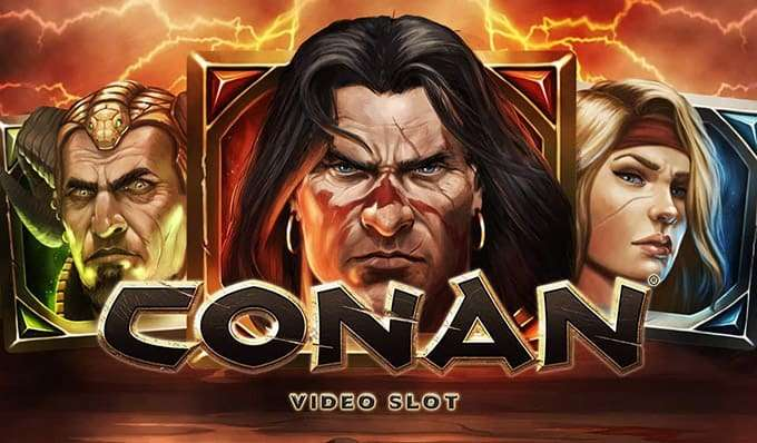 Conan Slot Machine
