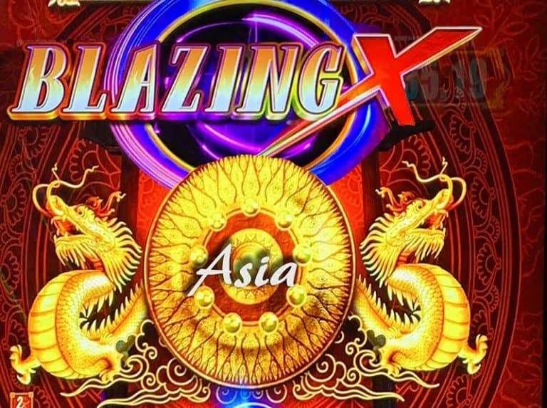 Blazing X Asia Slot Machine