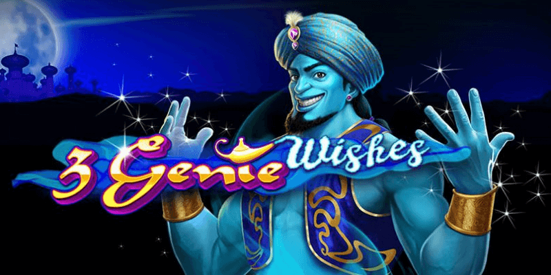 3 Genie Wishes Slot Machine