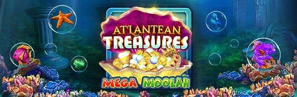 Atlantean Treasures Mega Moolah Microgaming