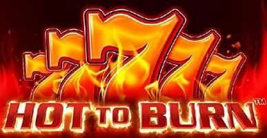 Hot to burn Slot Machine