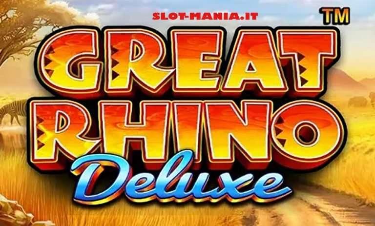 Great Rhino Deluxe Slot Machine