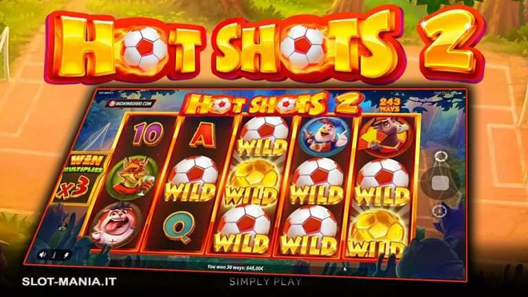 Hot Shots 2 Slot Machine