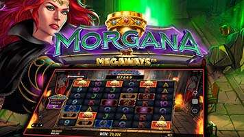 Morgana Megaways Slot Machine