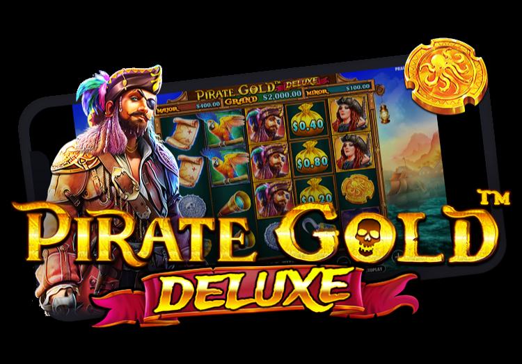 Pirate Gold Deluxe Slot Machine