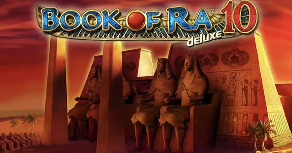Book of Ra 10 Deluxe Slot Machine