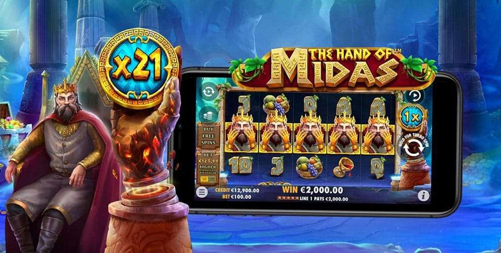 The Hand of Midas Slot Machine