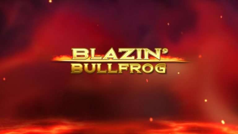 Blazin' Bullfrog Slot Machine